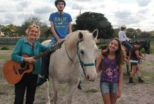 Music Therapy and Horses / Here at H.A.P.P.I Farm we offer Music Therapy.
