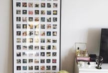 Photos and pictures displayed