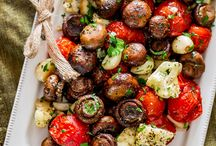 Roasted veggies