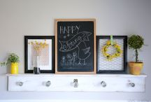 Spring and Summer decor / by Candice : She's Crafty