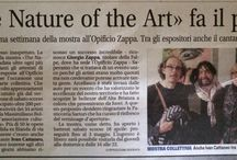 The Nature Of The Art / Mostra d'arte contemporanea 68 opere 34 artisti da tutta Europa