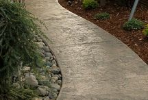 concrete path ideas