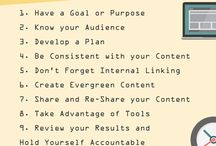 Content Marketing / Content marketing tips, content strategy and social media / by Susie McBeth