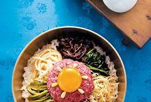 비빔밥 .