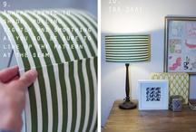 lamp shades- recover