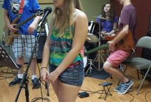 Summer Rock Camp / Summer Rock Camp is great!  Watch our bands practice and get ready for concerts.
