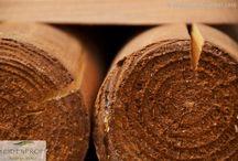 Zubehör für Montage & Pflege von Naturgeflechten / Alles für den Zaunbau vom Pfosten bis zum Schraubwinkel