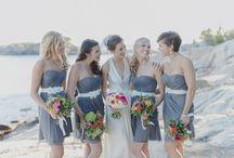 Bridesmaids / All things bridesmaids- style, fashion , fun , gifts