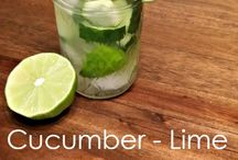 Eat Clean Flavored Water Recipes / by He and She Eat Clean