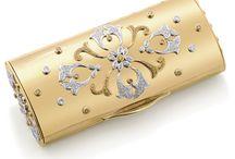 Gold handbag
