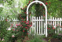 Garden Gate Rose Arbor