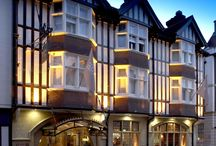 ABode Canterbury / With its central location, within the ancient city walls and only minutes away from Canterbury Cathedral (a World Heritage Site), ABode Canterbury is the perfect place to visit the city and enjoy the shops, historic sites and traditional architecture.  The hotel maintains the old wooden beams and traditional fabric of an ancient and historic building while adding contemporary design features and modern comforts, with understated British style.