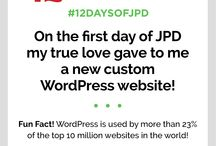 12 Days of JPD! / Featuring our top web design and entrepreneur related tips and tricks!