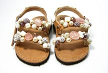 Baby sandals / Handmade by Gea Creations