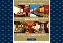 News about Maharajas' Express / To keep you updated about the new Offers, Events, Newsletters and E-mailers.