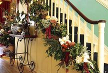 Holiday Banisters Naturally / by VZWraps Fabric Gift Bags