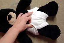 Cloth diapering with natural fibers
