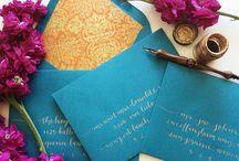 Wedding Calligraphy / by Laura Hooper Calligraphy