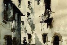 Art: 1910s Watercolor