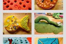 Playdough recipes and ideas