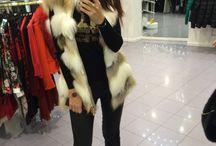 Fur vest by Marishka