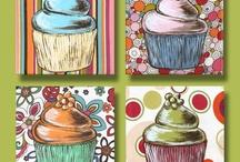 Cupcake paint