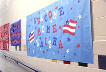 Welcome Home Solider Classroom