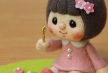 куклы из фетра / куклы из фетра выкройки