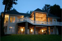 Custom Spaces / Custom Homes Designed And Built By Design Craft Homes, Inc.  Located