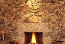 Stunning Fireplaces / Exploring the Fireplace as a center piece of a Great Room