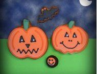 Halloween cookies / Spooky Halloween gift cookies - gift boxes, singles, cookie cards. #Halloween #cookies