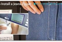 Denim and Jeans Sewing Projects