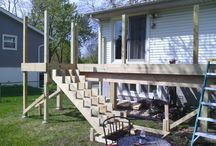 Outdoor Deck Ideas / Punch List Handyman and Remodeling in Chicago and Milwaukee will help you design, construct and finish any outdoor deck for your home or business.  Give us a call to get started!. Chicago 773-935-7727. Milwaukee 414-539-3285