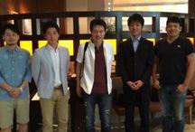 朝食会 / 毎週水曜日AM7:30〜9:00に渋谷にて経営者の方々をお招きして朝食会をしています。