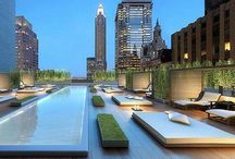 New York Roof Top Gardens / Roof top gardens in New York, from urban  farms, penthouse terraces over looking Central Park to hotel roof tops, they are all great to look  at from a landscaping eye,