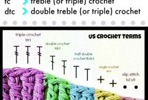 Crocheting  cheat sheets