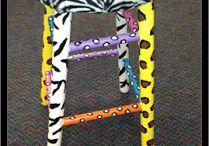 Zebra Classroom Theme / Ideas for decorating with a zebra theme.