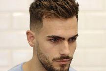 Причёски с бородой