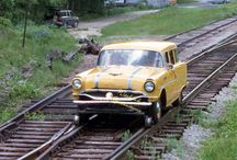sinautó - rail car