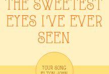 Music / Song Lyrics and Songs I like!