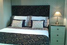 DIY bedroom glamour.