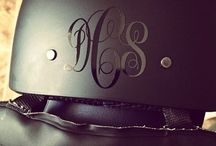 MONOGRAM IT / All things beautiful and of course initialed!