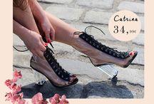 Catrina 34,99€ || Γυναικεία Ankle Boots Διάτρητα Σαμπανιζέ