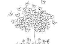 Tavasz - Spring coloring