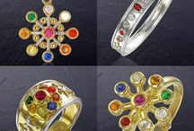 """Buy Navgrah Gemstone Online / """"NavRatna"""" the nine gems in Vedic Astrology can also be combined for the people who work with Chakra therapies. Navagraha signifies nine gemstones relevant for the nine planets. These gems are worn to attune to your energies."""