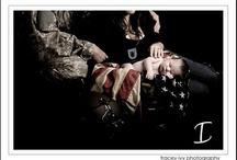 Military photo shoots