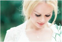 Ethereal woodlands bridal shoot
