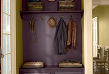 paint ideas for our dark entryway / by Karen Walrond