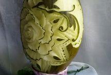 OWOCE / zielone melony