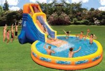 Kids Water Slides, Pools, Summer Fun, http://shopsheds.com/playset-playhouse.htm / Kids Water Slides, Pools, Summer Fun, http://shopsheds.com/playset-playhouse.htm